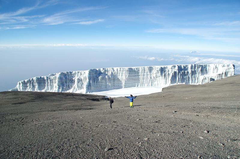 The mighty Rebmann-Glacier