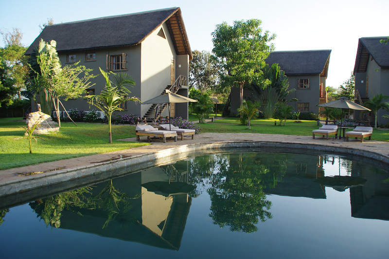 The Weru Weru Lodge is a great place to relax after climbing Mount Kilimanjaro and Mount Meru...