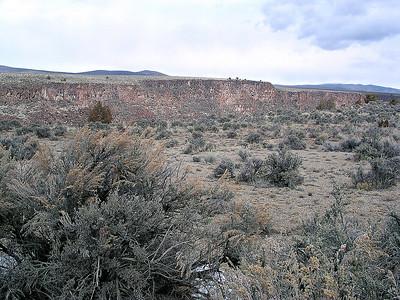 Taos Rio Grande by Richard Lazzara