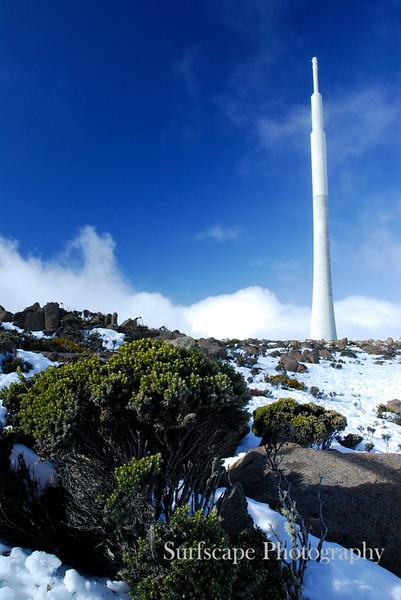 View from Mt Wellington, Hobart, Tasmania