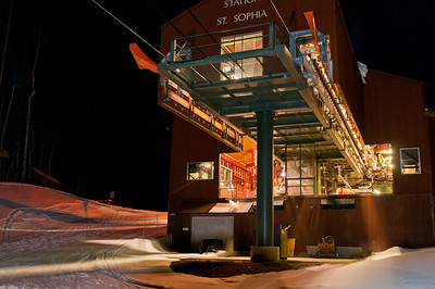 station St. Sophia.  This is the upper station for the gondola lift.