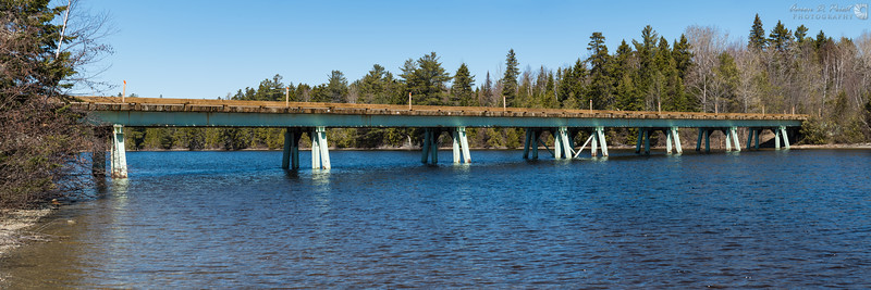 Chamberlain Bridge over Telos Lake