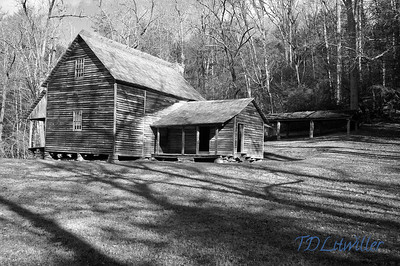 Cades Cove Smokey mountains  National Park, TN   taken with an R72 filter