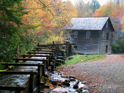 Mingus mill. Smokey Mountains National Park
