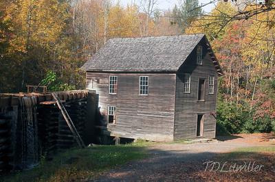 Mingus mill. Smokey Mountains National Park
