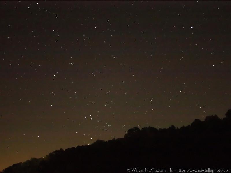 Night Sky - Pin Oak Lake - Natchez Trace State Park