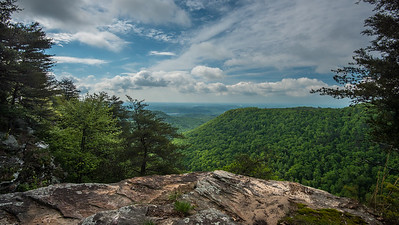 Buzzard Point in Laurel Snow Wilderness in Tennessee
