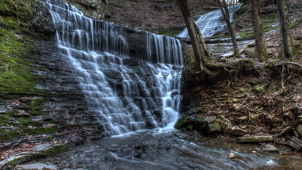 Jackson Falls in the Natchez Trace, Tennessee