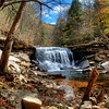 Horsepound Falls in the Collins Gulf, Tennessee