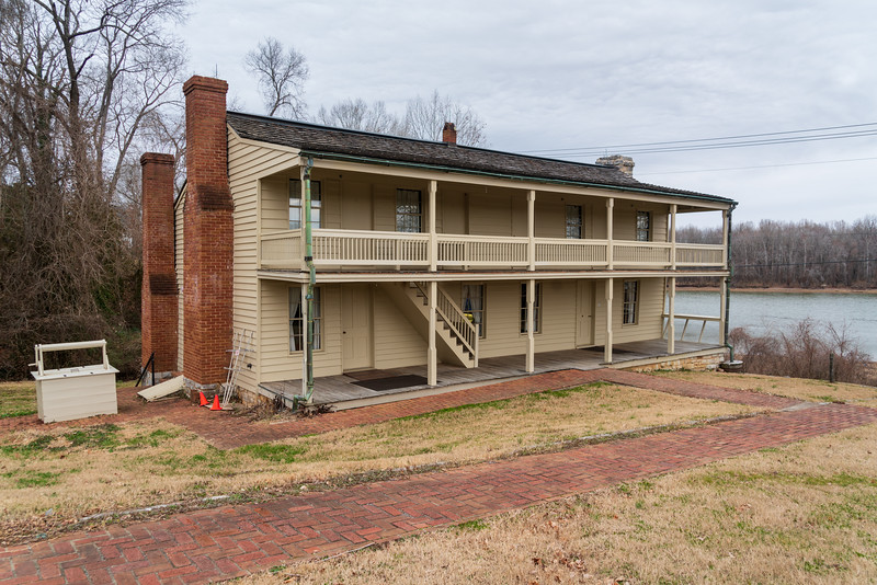 The Barracks at Fort Donelson National Battlefield