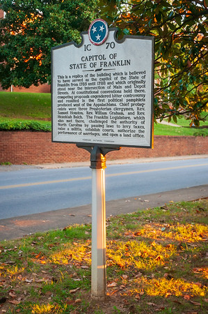 Capitol of the State of Franklin