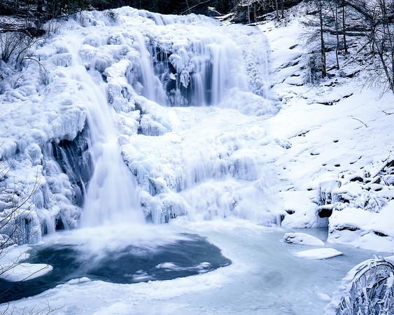 Bald River Falls - Frozen