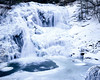 Bald River Falls - Frozen