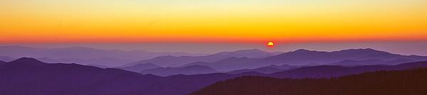 Clingmans Doom fall sunset (1 of 1)