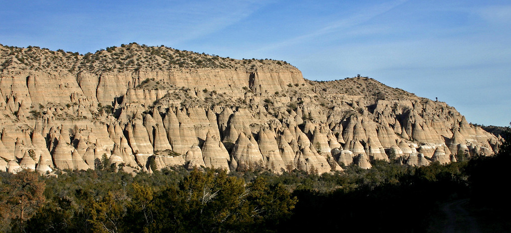 Tent rock formations