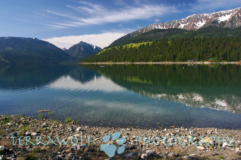 Reflections. Wallowa Lake, Oregon