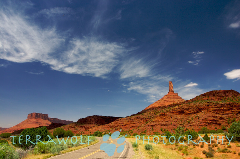 Castle Rock, Moab, Utah.