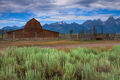 Barn, Mormon row