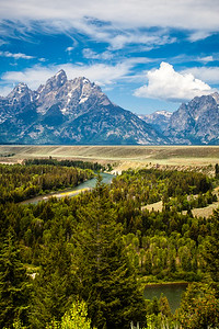 Teton Mountains & Snake River