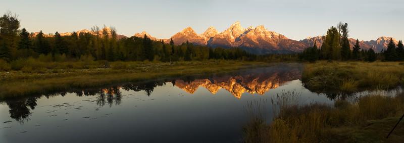 Sunrise Schwabacher Landing, Grand Teton National Park