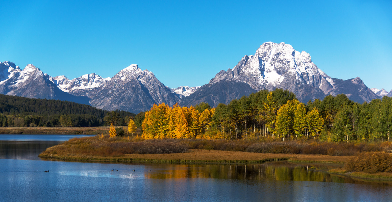 Ox Bow Bend, Teton National Park