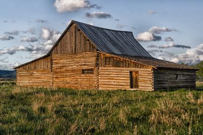 Back of Mormon Barn