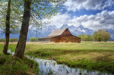 Traditional Mormon Row Barn