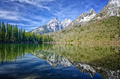 Another view from String Lake - quickly becoming one of my favorite places in the Tetons
