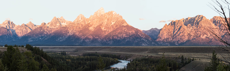 Tetons with the Snake River