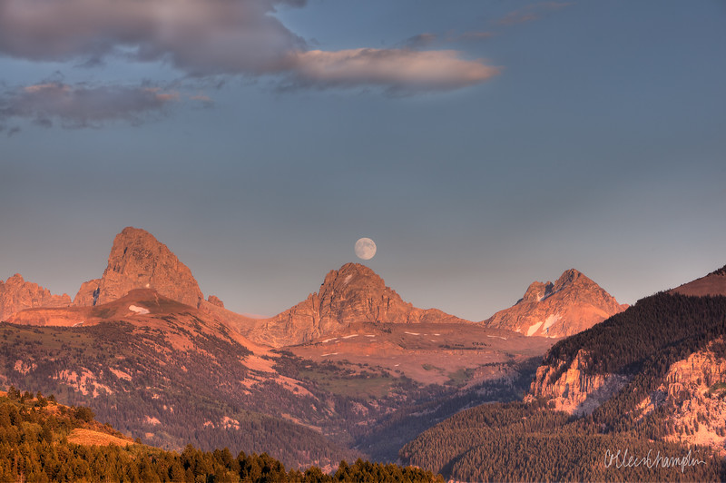 Sunset Moonrise
