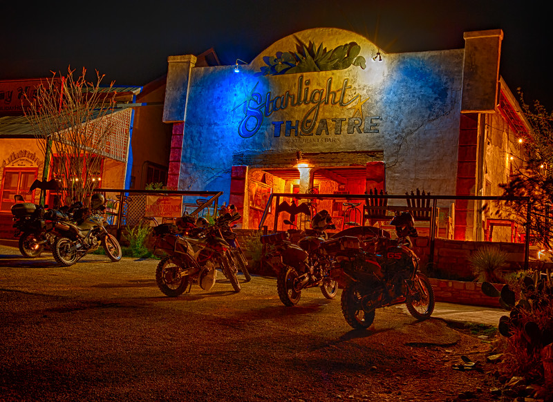 Starlight Theater & Cafe - Terlingua, TX