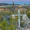 """""""Pre-Dawn Blush"""" - Terlingua Ghost Town Cemetery, Terlingua, TX"""