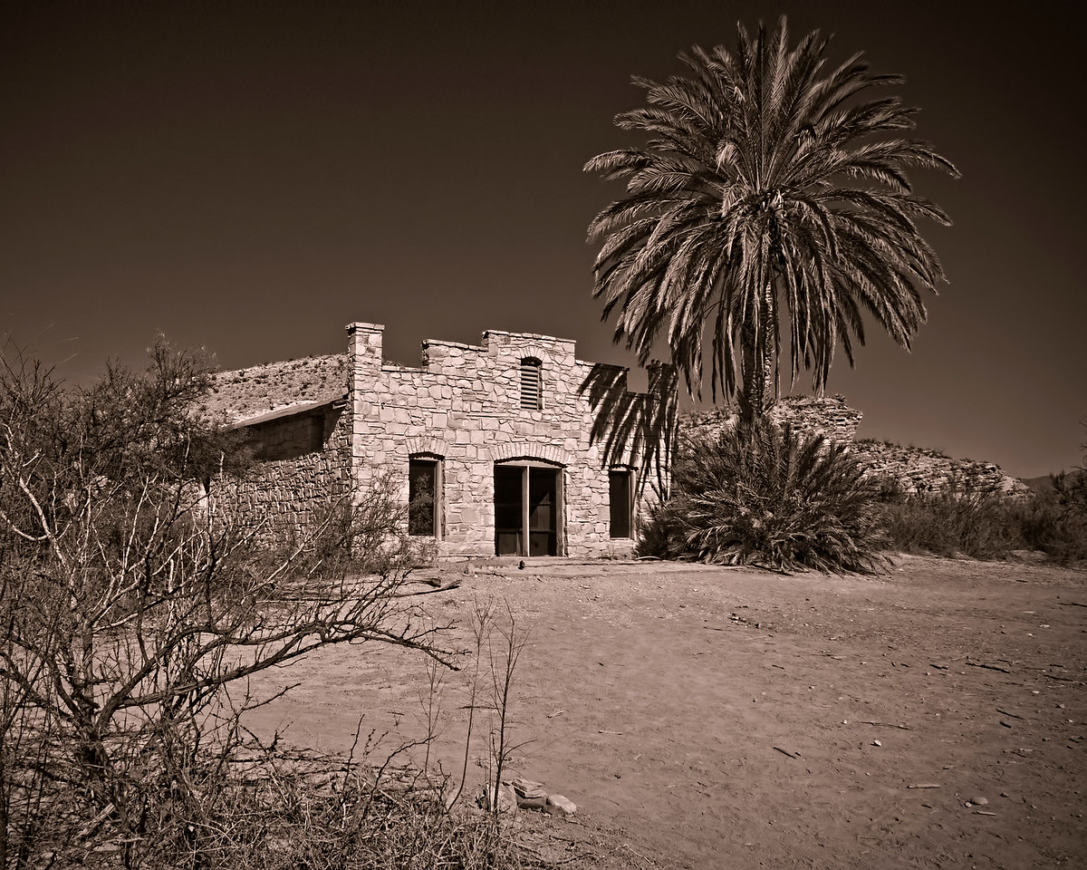 """""""The Old Post Office"""" - Hot Springs, Rio Grand Village, Big Bend NP, TX"""
