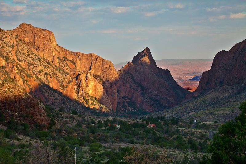 Texas, Big Bend National Park, Texas, Chisos Basin, The Window, Landscape, 德克萨斯, 大弯曲国家公园, 窗口,风景