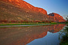 Texas, Big Bend National Park, Santa Elena Canyon, Sunrise, Landscape, 德克萨斯, 大弯曲国家公园, 风景,