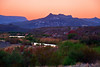 Texas, El Camino del Rio, Big Bend Ranch State Park,Dusk Twilight, Landscape, 德克萨斯, 大弯曲公园,黄昏,风景