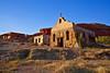 Texas, El Camino del Rio, Big Bend Ranch State Park,Ruins, Landscape, 德克萨斯, 大弯曲公园,黄昏,风景