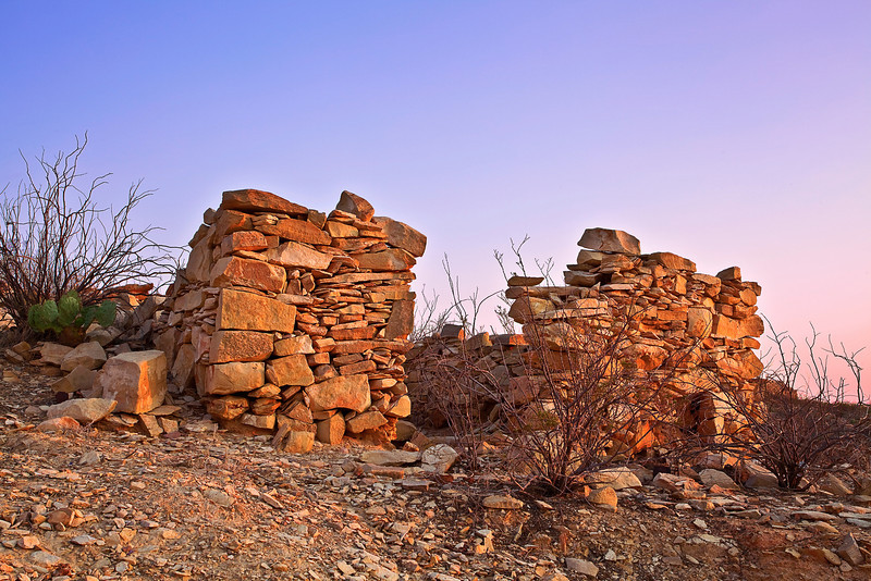 Texas, Ghost Town, Ruins, Terlingua, Landscape, 德克萨斯, 鬼城,废墟, 黎明, 风景
