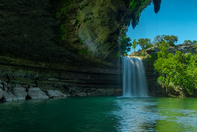 Hamilton Pool Nature Preserve: May 2015.