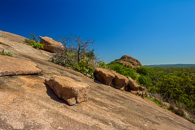 Turkey Peak as seen from Enchanted Rock.
