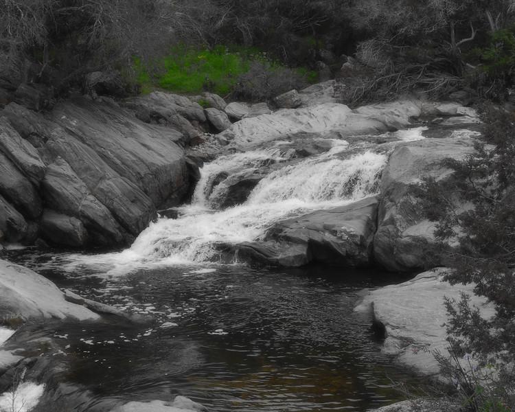 Inks Lake Falls
