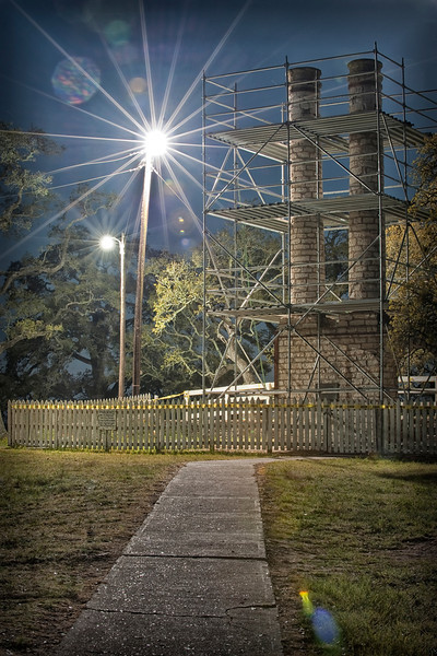 Entrance - Old Baylor Female College - Independence, TX