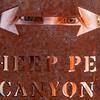 Sheep Pen Canyon Trail Sign, Davis Mountain State Park