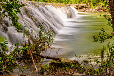 Waterfall on Bull Creek, Austin, Texas