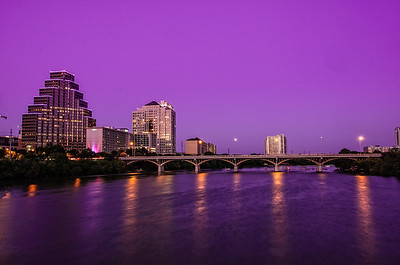 Austin Texas Skyline at Night