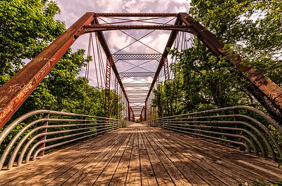 Moore's Crossing Bridge, Richard Moya Park, Austin, Texas