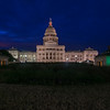 Texas  State Capitol building at blue hour : 2017