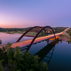 Pennybacker bridge with Reflection.