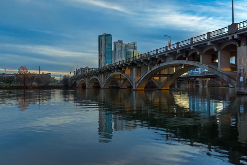 Lamar Boulevard Bridge at Sunrise 2.
