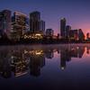 Austin Texas skyline 2018.